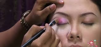 how to add crystals to your eye makeup for a pop of color makeup wonderhowto