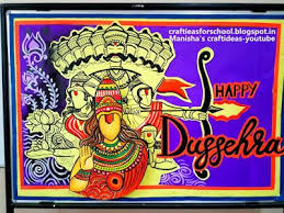Dussehra Charts For School Art Craft Ideas And Bulletin Boards For Elementary Schools
