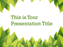 Presentation Themes Google Plant Google Slide Themes For Presentations Download Now