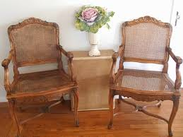 french cane chair. 4 French Cane Chairs Chair E