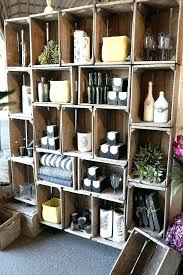 crate wall shelves crate wall above we found on this would be an amazing storage unit