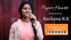 paper hearts vocal cover by rachana rk
