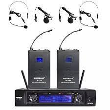 Freeboss M 2280 50M Phạm Vi Làm Việc 2 Bodypack Phát 2 Tai Nghe Mic Và 2  Lavaliver Mic Giáo Hội DJ Không Dây UHF micro|uhf wireless  microphone|karaoke wireless microphonewireless microphone - AliExpress