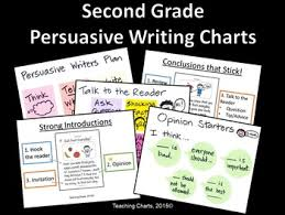 Second Grade Persuasive Writing Anchor Charts Lucy Calkins Inspired