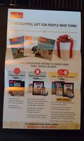 economist gift subscription promotion digital print subscription offers