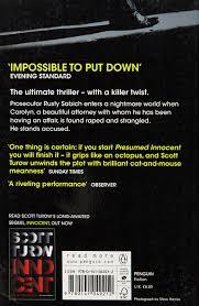Presumed Innocent Book Presumed Innocent Scott Turow 24 Amazon Books 7
