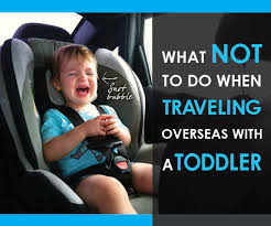 traveling overseas with a toddler