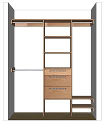 image of diy closet organizers with drawers