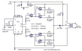 circuit diagram for inverter readingrat net Trailer Inverter Wiring Diagram circuit diagram for inverter trailer converter wiring diagram
