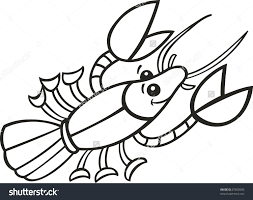 stock vector illustration of crayfish for coloring book 67850506 adult top crawfish coloring page images dashah beauty coloring page on crayfish worksheet