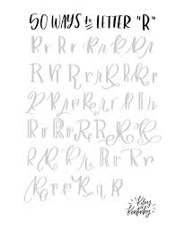Letter Of Reference Simple 44 Ways To Letter R Reference Pinterest 44th Letters And Fonts
