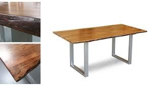 Massivholz Tisch Agra 160x90 Cm Akazie Mit Baumkante