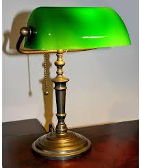 bankers lamp solceller og lysdioder antique office lamp