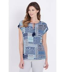 Discover our W.Lane <b>Patchwork Tassel</b> Top at Noni B. The <b>Women's</b> ...
