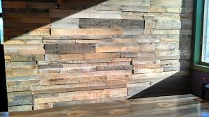 pallet wood wall sustainable lumber company