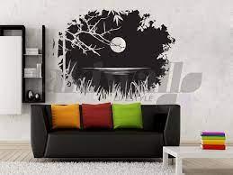 night moon sticker decal home decor