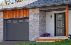 garaga garage door model standard flush 10 x 7 charcoal masterline windows novatech entry door model sydney from the prestige collection