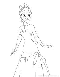 Princess Grenouille 1 Coloriage La Princesse Et La Grenouille