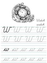 Handwriting numbers worksheets alphabet and numbers dot to dot games alphabet and numbers dot to dot printables >>make your own handwriting worksheet>> themes handwriting practice blank handwriting papers cursive handwriting. Alphabet Coloring Tracers Cursive W
