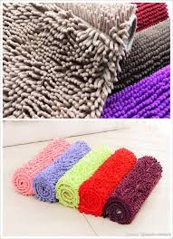 Soft Kitchen Floor Mats Wholesales Chenille Carpet Bedroom Bathroom Kitchen Floor Mat Soft