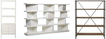 Favorite open shelving units to use as room dividers