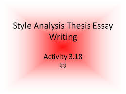 your point daily participation grade is based on cla s core  5 style analysis thesis essay writing activity 3 18