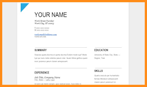 Free Resume Templates Google Docs Amazing Simple Resume Template Google Resume Template Simple Resume Template