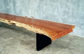 contemporary bench wooden long low