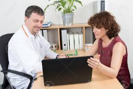 Pharmaceutical Representative Female Pharmaceutical Sales Representative At Office Have Meeting