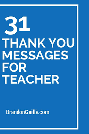 Thank You Teacher Quotes Thank You Teacher Quotes Best Of 100 Best Thank You Note Examples 65