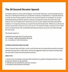 elevator pitch examples for job seekers. 9+ elevator speech examples | students resume pitch for job seekers r