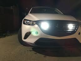 Custom Fog Designs Mazda Cx 3 Custom Led Fog Lights Behind Front Grill Mazda