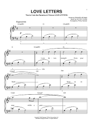 sweater weather piano sheet music love letters sheet music music for piano and more sheetmusicnow com
