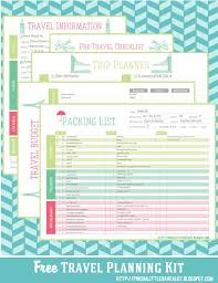 Free Trip Itinerary Planner Pinch A Little Save A Lot Printables For Emergency Planning