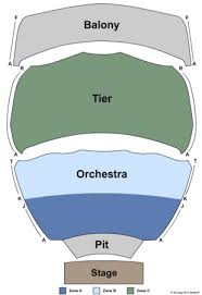 Abraham Chavez Theatre Tickets In El Paso Texas Seating