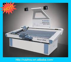 ruizhou cnc oscillating knife leather cutting machine 1