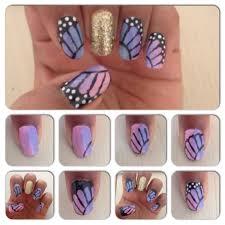 Nail Art Tutorial: Monarch Butterfly Wings |