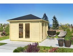 Auch ohne einen schützenden anstrich liegt die haltbarkeit der gartenhäuser bei deutlich über hundert jahren. Gartenhaus Simone 350x350 Cm A 44 Mm Doppelnut Inklusive Boden 2 349 00
