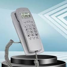 corded telephone desktop phone caller
