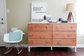 Ikea Tarva Dresser Hack 6drawer Paint Stain Combo  Remodelaholic