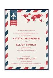 vintage travel themed wedding invitations google search When To Mail Destination Wedding Invitations \