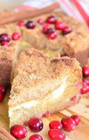 Cranberry Cream Cheese Coffee Cake Will Cook For Smiles