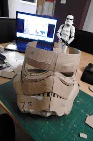i have a black series stormtrooper helmet that arrived today hopefully that will fit and i ll just use that gotta wait for xmas though as it s a present