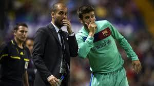 Pique sợ hãi vì nỗi ám ảnh trái bóng của Pep Guardiola - Cầu Thủ