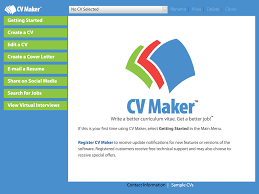 Curriculum Vitae Maker Mesmerizing Write A Better Resume Resume Maker For IPad Individual Software