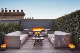 Image Rooftop Attractive Roof Deck Furniture This Rooftop Combines Built In Fireplace Plant Covered Walls Occupyocorg Attractive Roof Deck Furniture This Rooftop Combines Built In