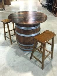 wine barrel furniture full size of pretty barrel top table wine home design large size of wine barrel furniture