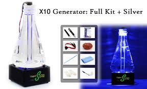 we put your health back in your hands finally there is a professional high quality colloidal silver generator
