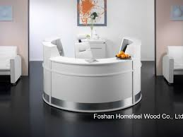 popular of elegant reception desk china white high gloss elegant salon reception desk counter hf
