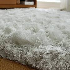 light grey fluffy rug thick plush area rugs bedroom for designs 8 home interior design pictures